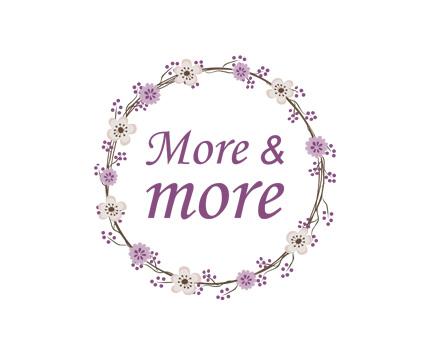 logo more & more nuevo